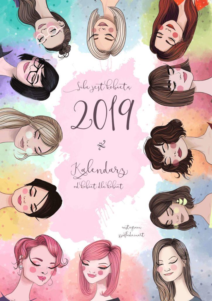 kalendarz Siła jest kobietą