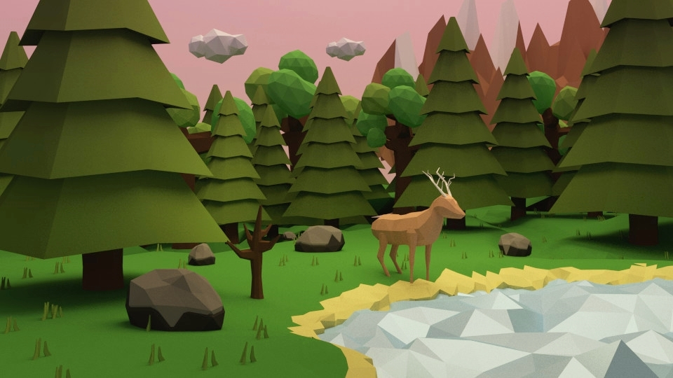 las low poly