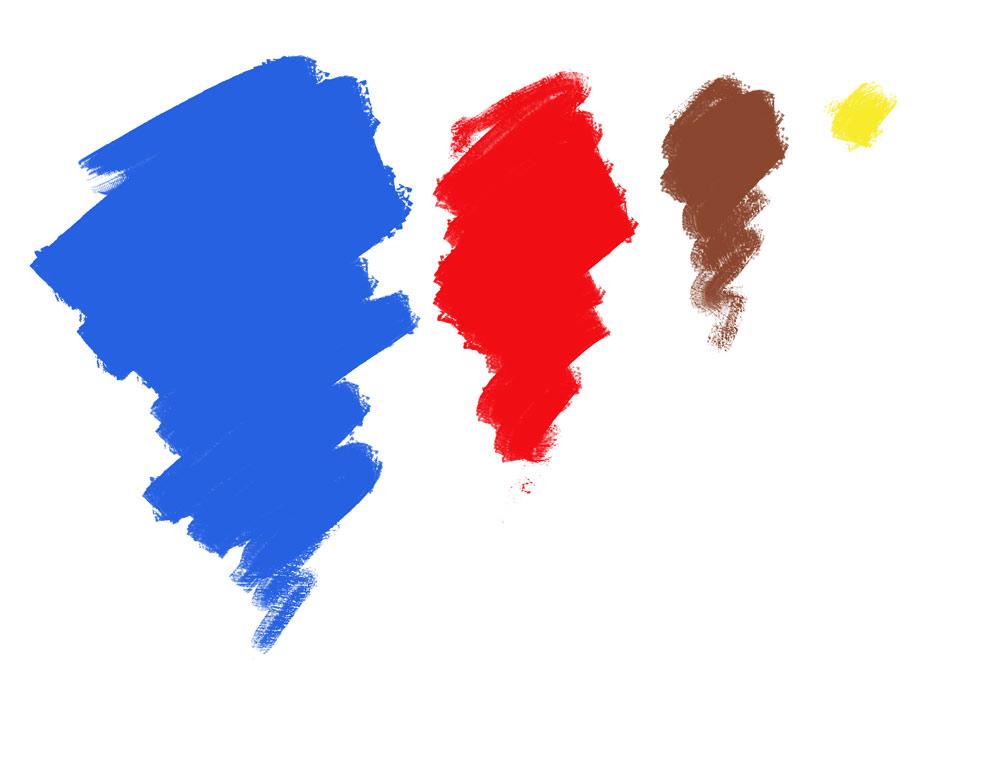 kolory postaci