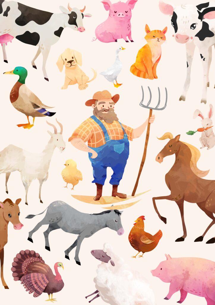 zwierzęta farma